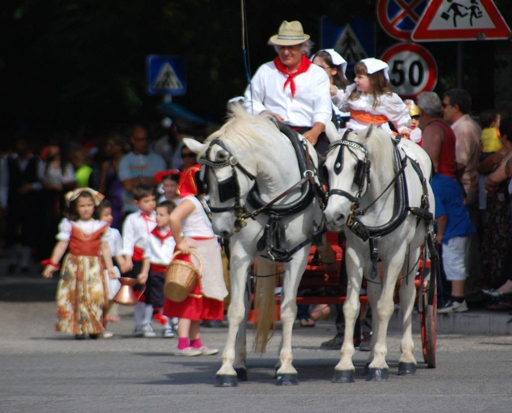 Procession at Raiano
