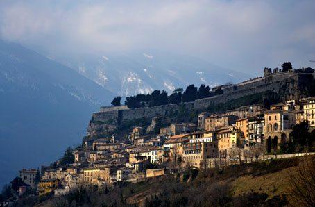 The Fort at Civitella del Tronto