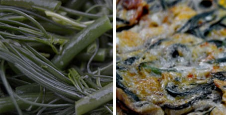 Agretti Dishes