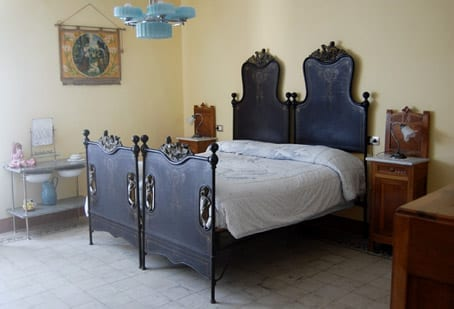 One of the apartment bedrooms @ Villa Valsi