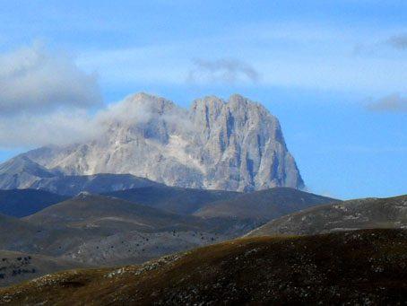 Corno Grande, The Gran Sasso Range by La Grande Quercia
