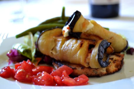 Stuffed Melanzane