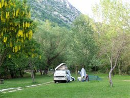 Time Camping in Abruzzo