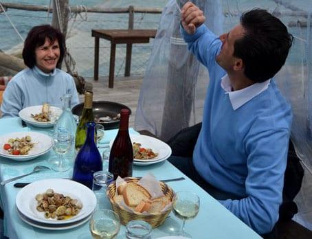 Marie and Rinaldo from Trabocco Punta Tufano