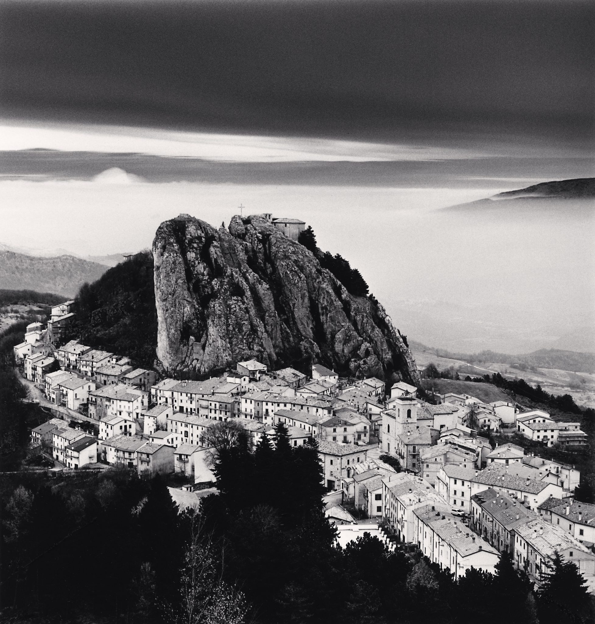 Approaching Clouds, Pizzoferato, Abruzzo, Italy. 2016. © Michael Kenna