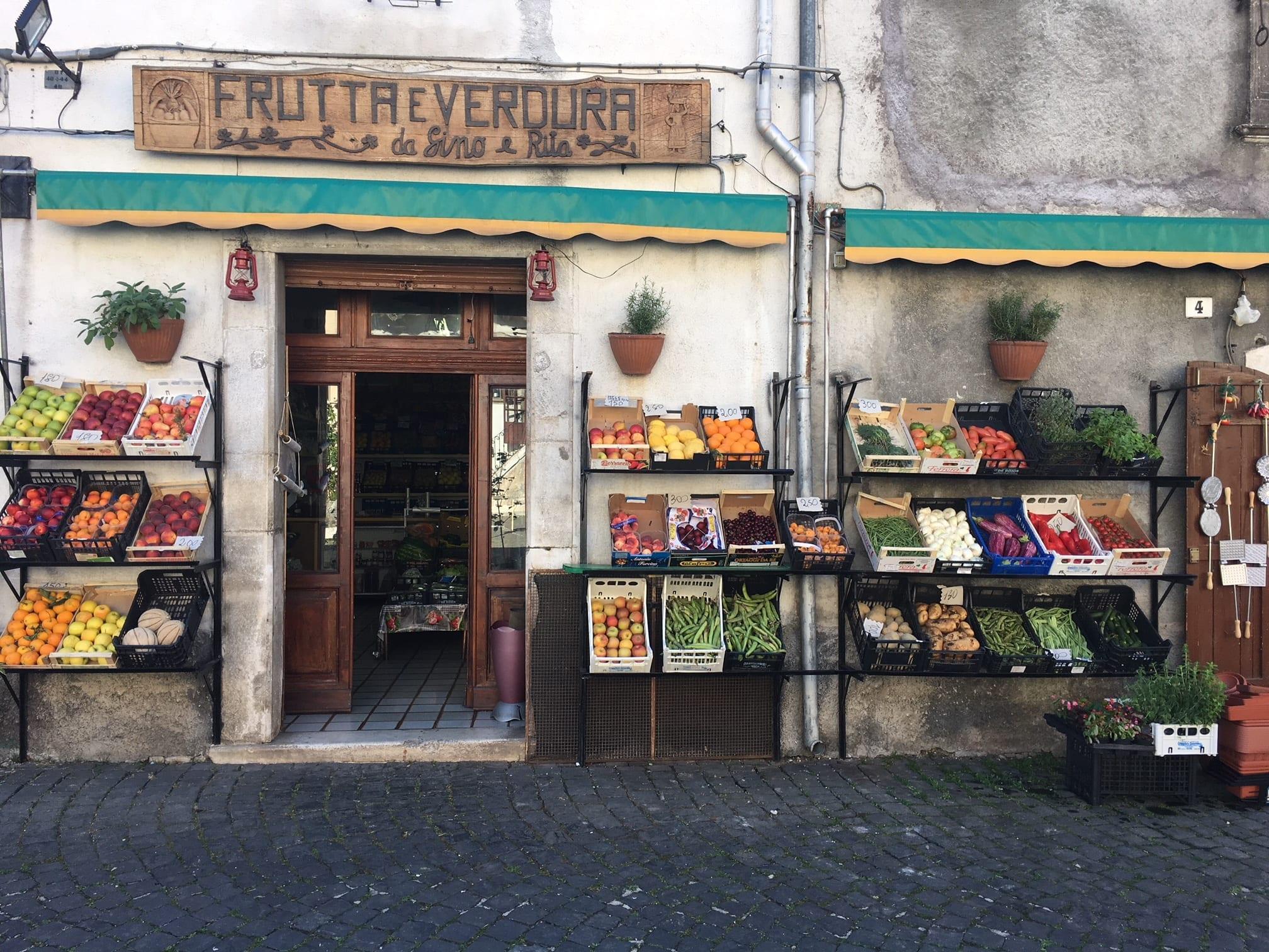 Pescasseroli shops